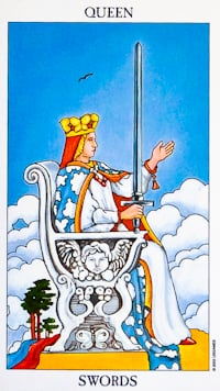 Queen Of Swords Tarot