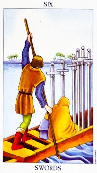 Six Of Swords Tarot