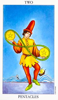 Two Of Pentacles Tarot