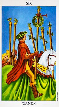 Six of Wands Tarot