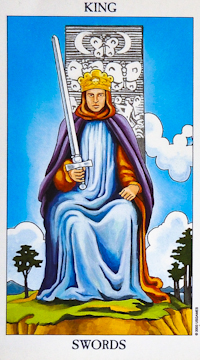 King of Swords Tarot